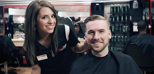 Sport Clips Haircuts of Austintown - Weston Center​ stylist hair cut